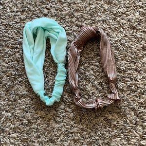 Twist knit headbands